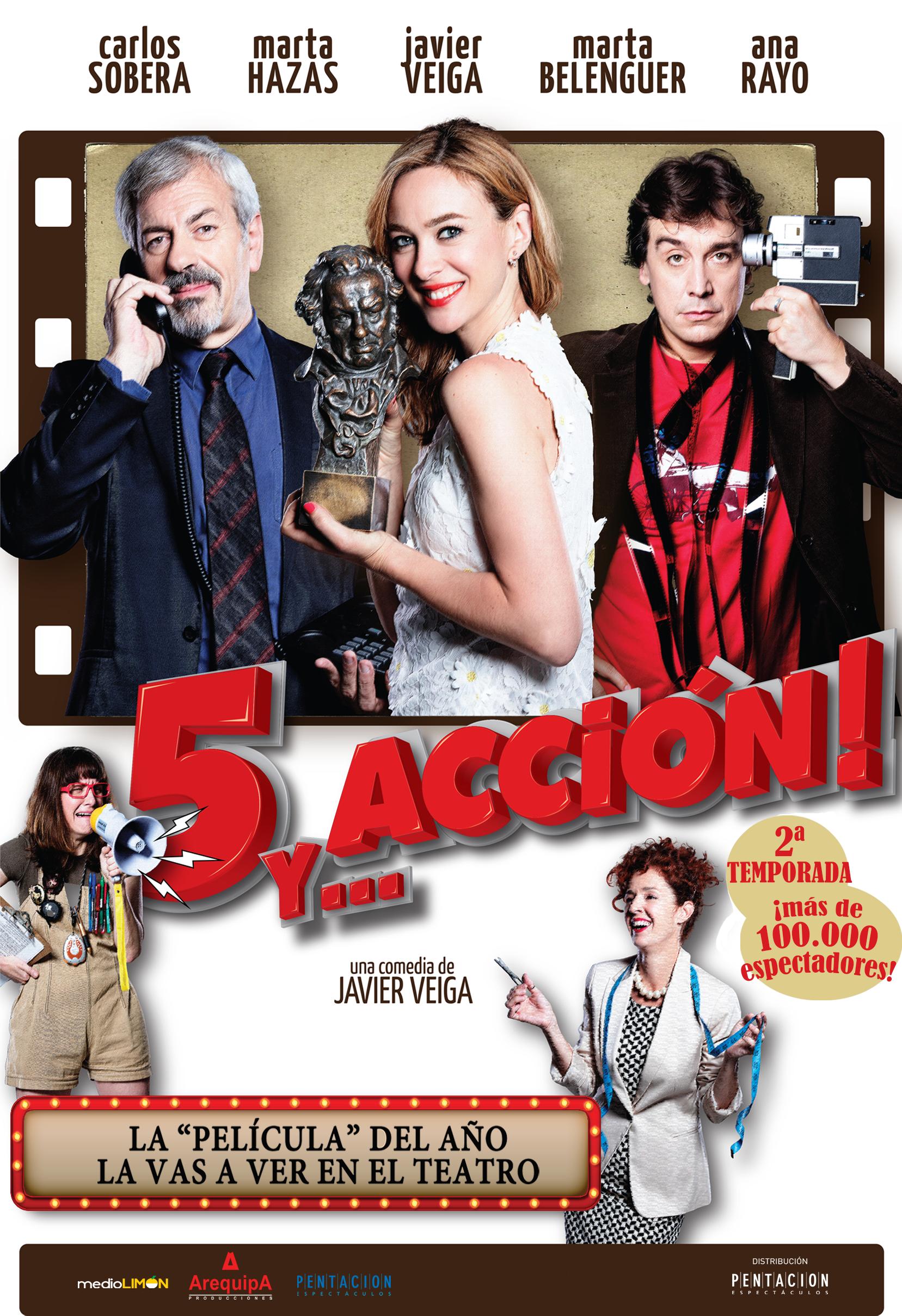 5 y accion teatro